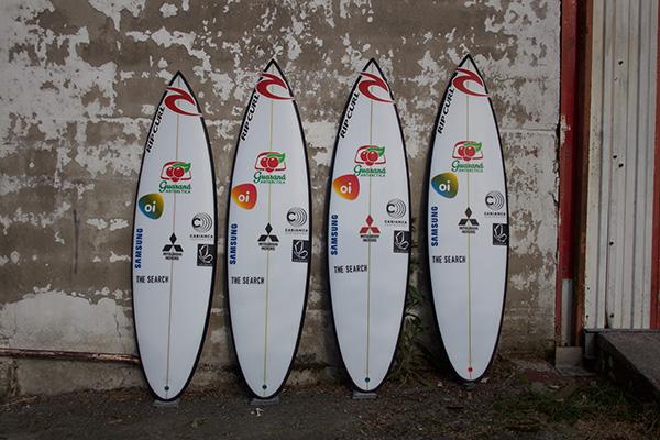 Gabriel Medina Cabianca Surfboards DFK for Fiji 2016