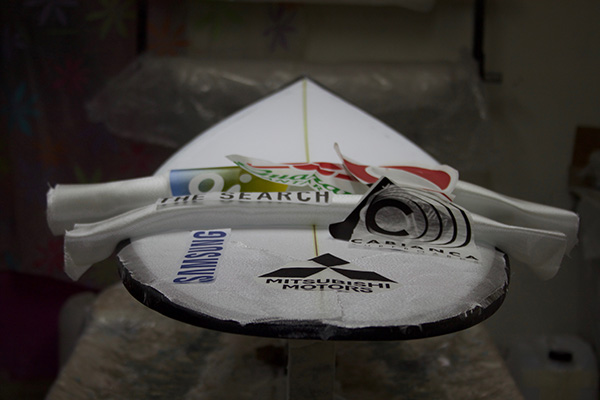 Gabriel Medina Surfboards Sponsor Logos