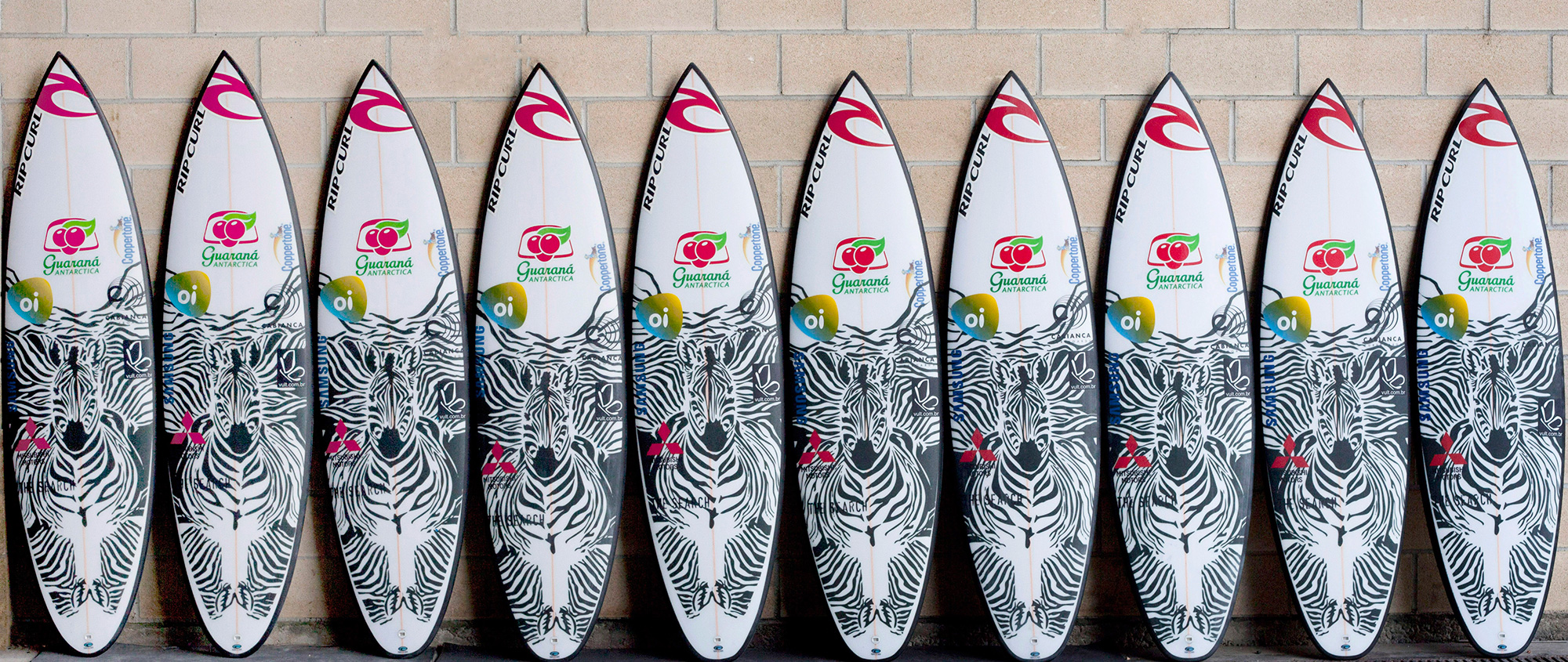 Gabriel Medina Quiver by Johnny Cabianca for JBay - DFK - Surfboards