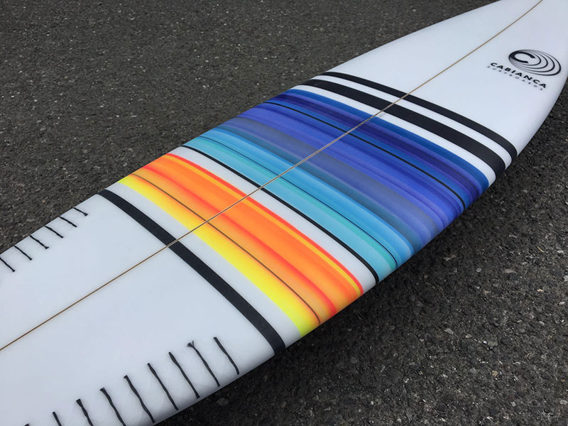 Cabianca Surfboards Pintura de Regalo Free Sprays July Julio