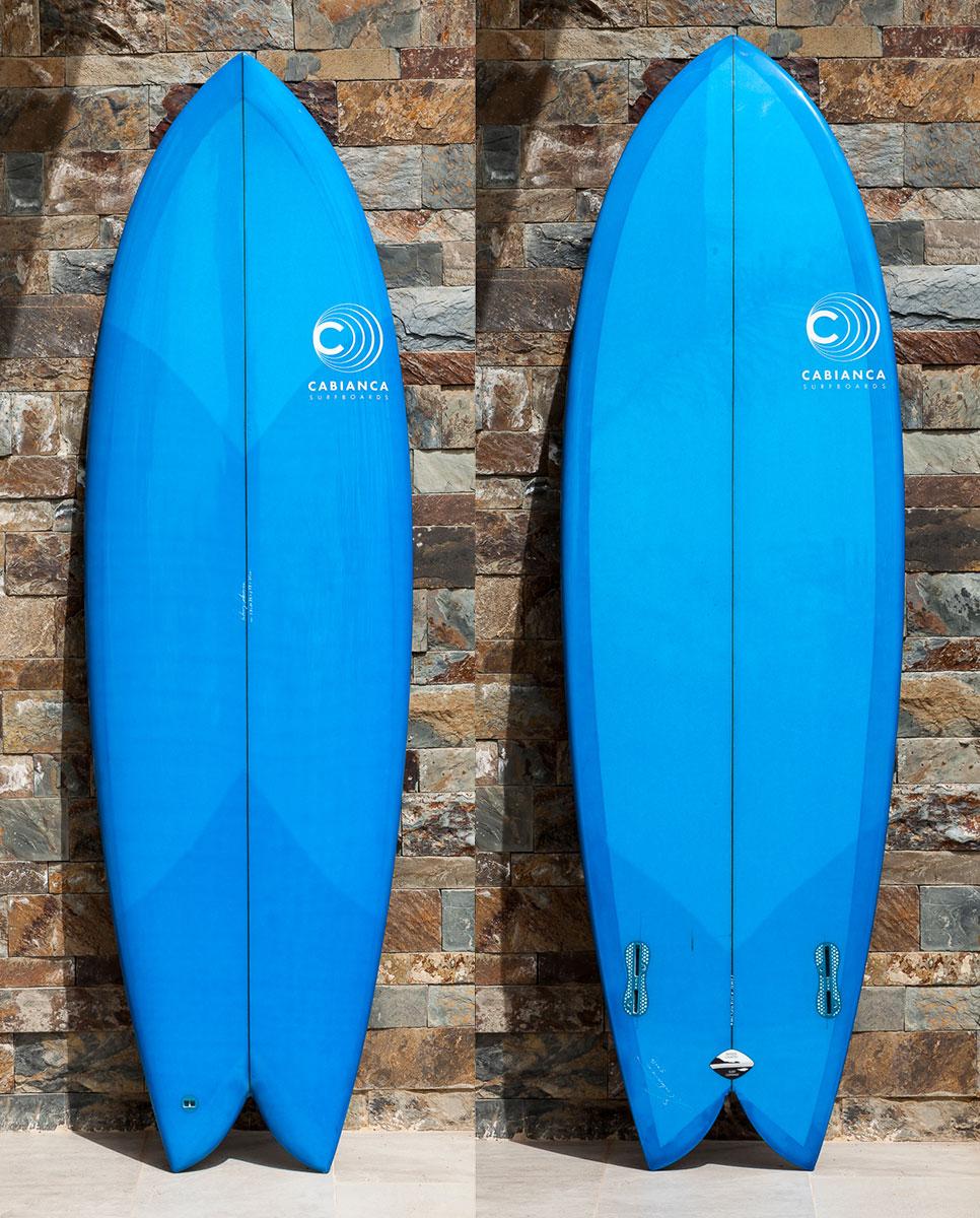 Cabianca Surfboard Retro Twin