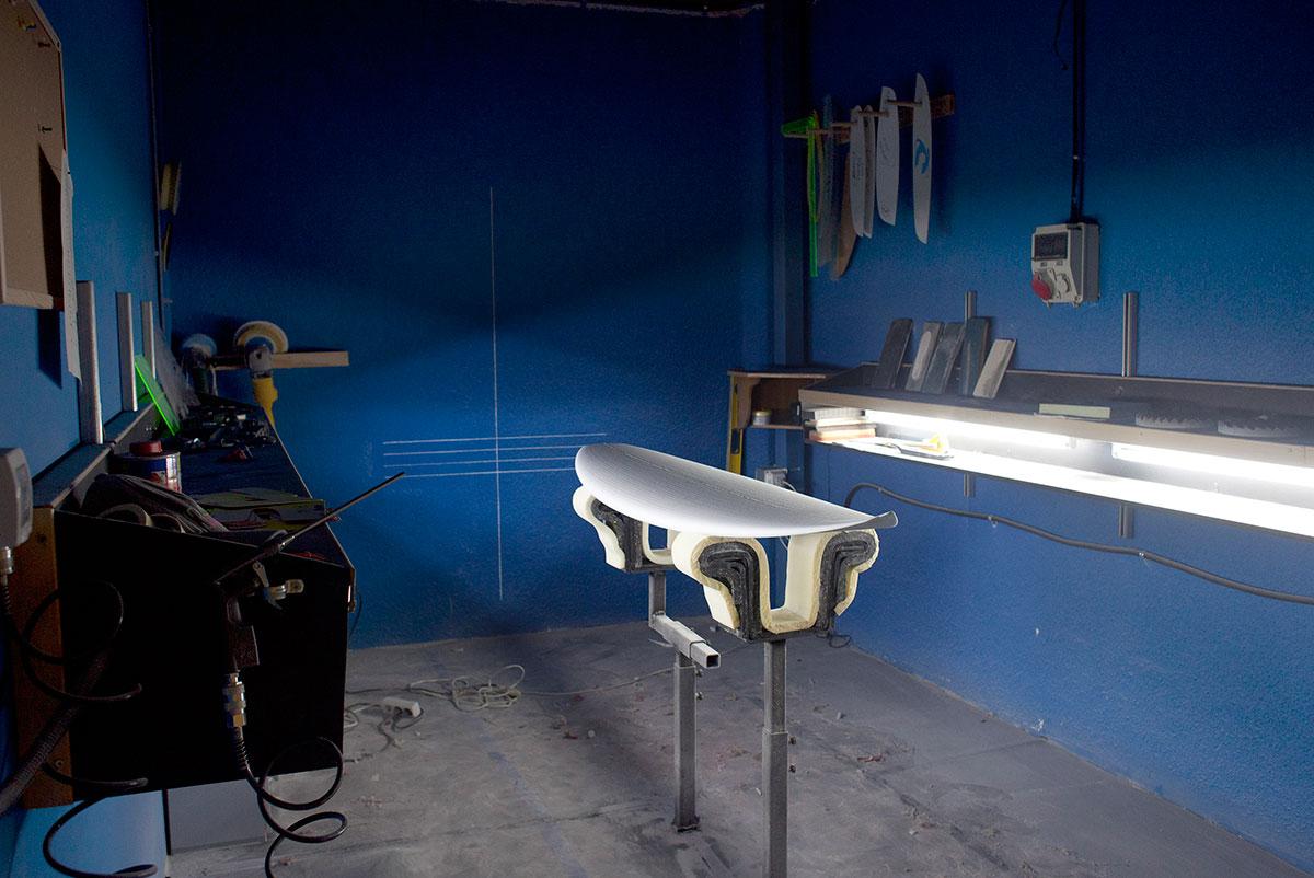 Basque Country Surf Company Blue Room Shape Room Johnny Cabianca