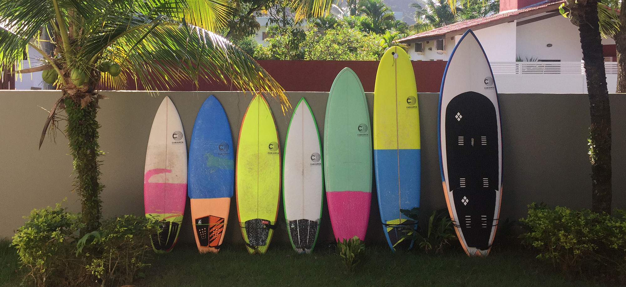 Cabianca Surfboards Family Quiver 2016