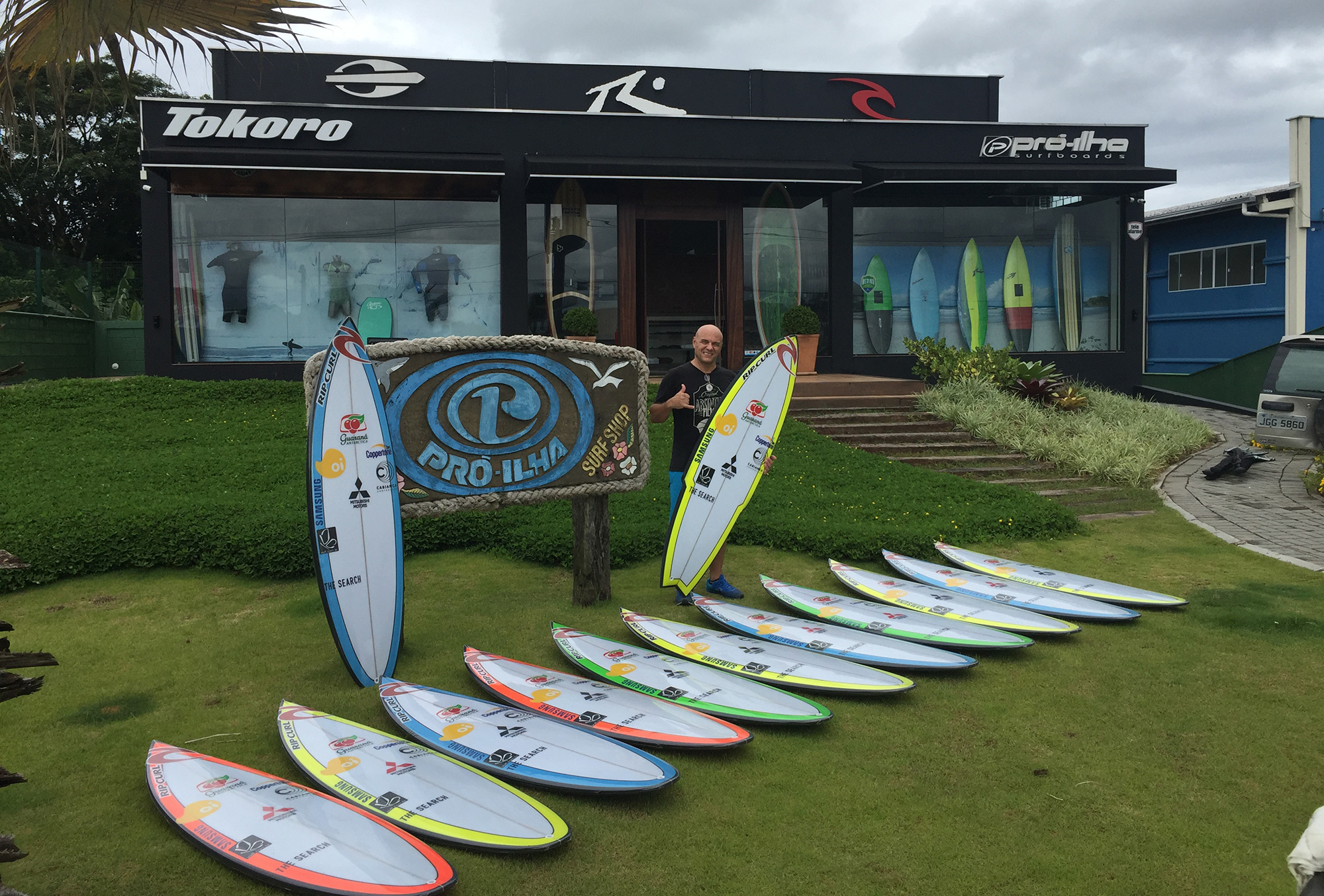 Cabianca Surfboards in Brazil | Pro Ilha Surfboards