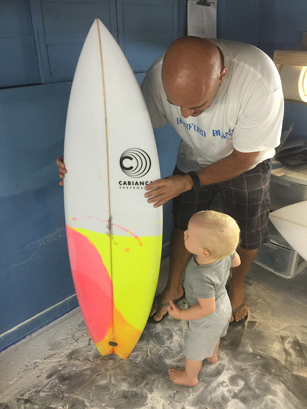 Gromet Special Surfboards - don't start too early..