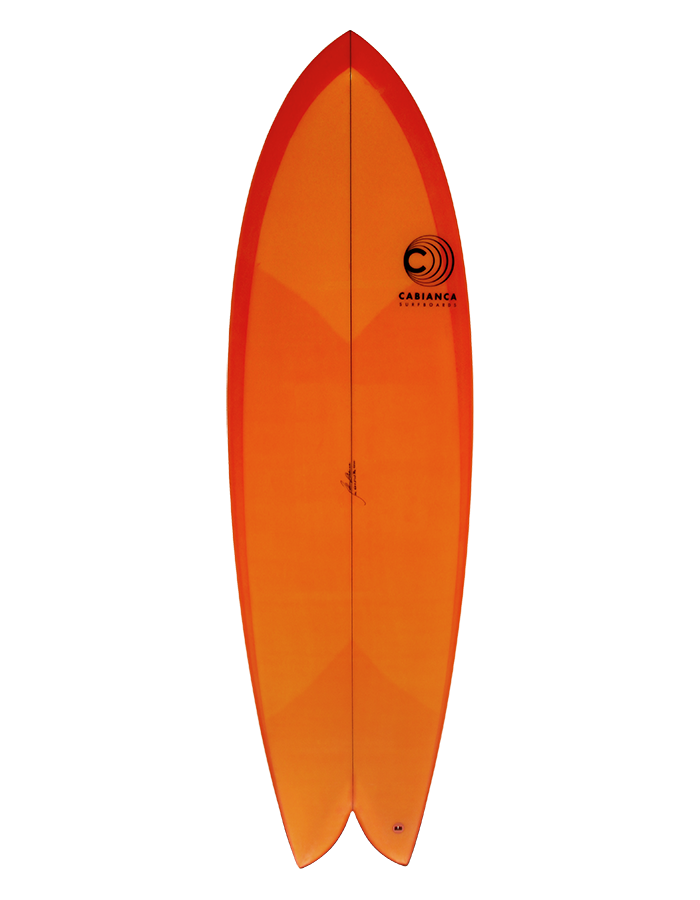 Cabianca Surfboard Retro Twin