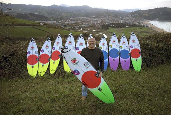 Johnny Cabianca Gabriel Medina Surfboards Zarautz