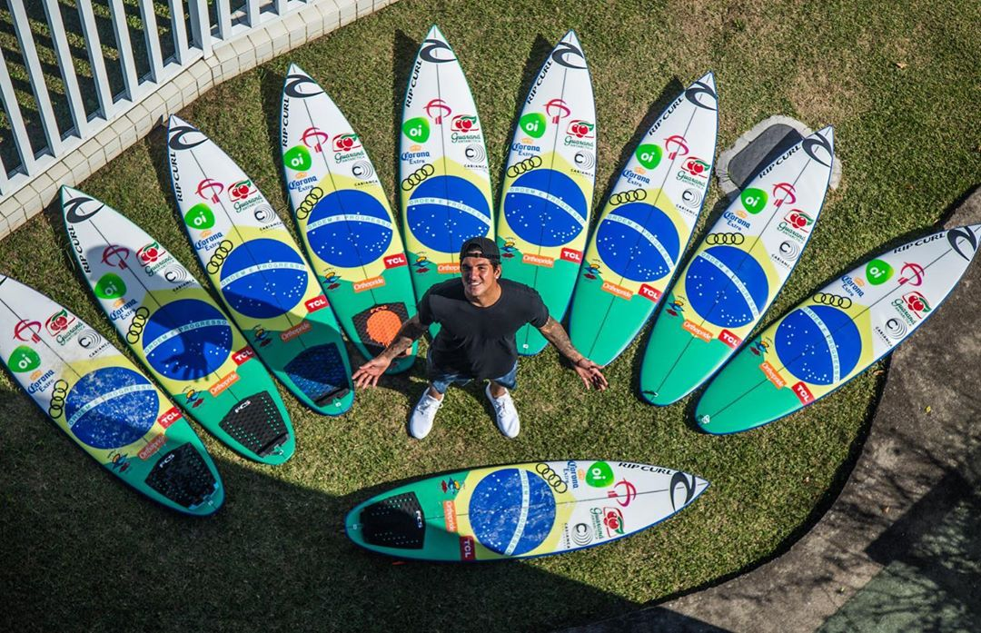Gabriel Medina, Cabianca Surfboards Quiver for Rio 2019 by Kaique Photo