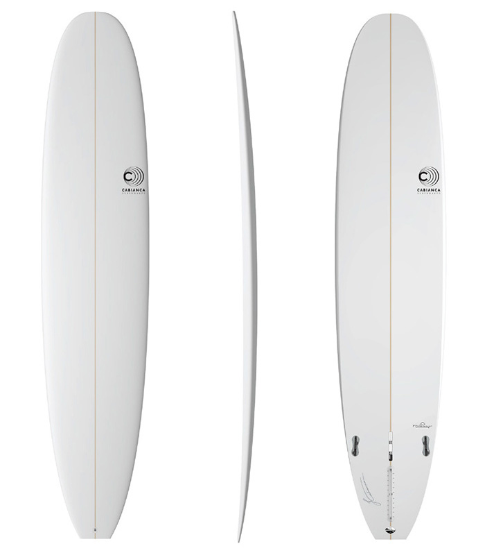 Longboard Trimmer Cabianca Surfboards classic