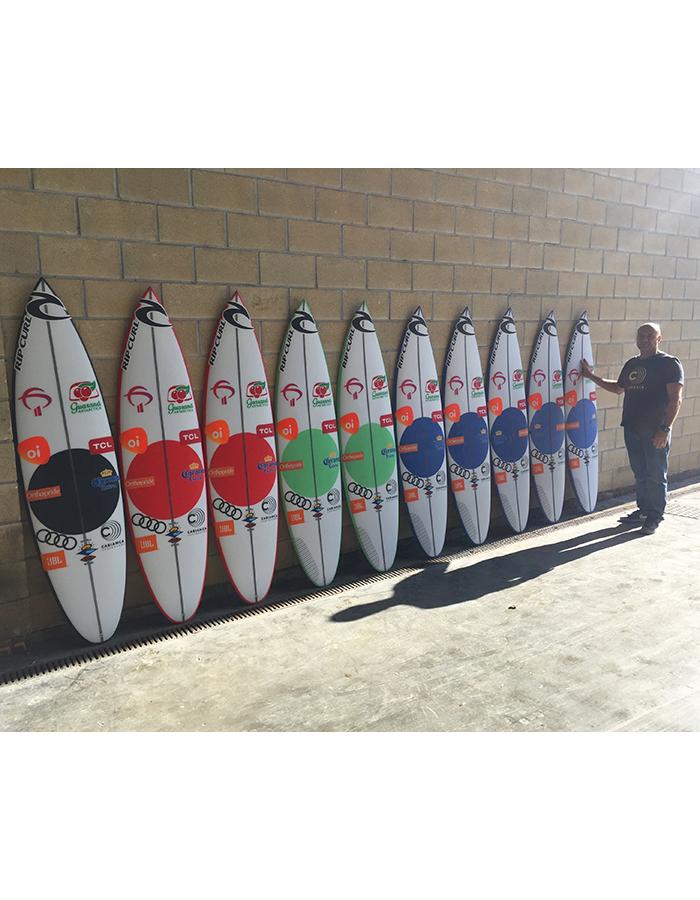 Cabianca Surfboards DFK 2.0 Gabriel Medina Quiver Hawaii Billabong Pipe Masters 2019