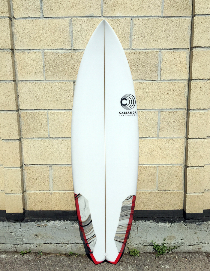 Cabianca Surfboards Uber Twin Fin Modern Sommer Toy
