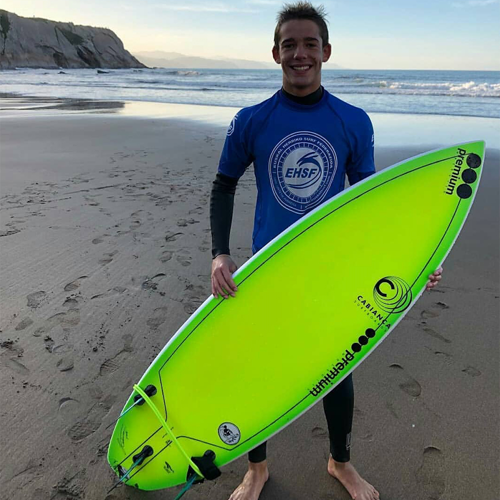 Bitor Garitaonandia Cabianca Surfboards