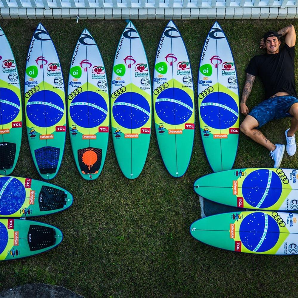 Gabriel Medina Cabianca Surfboards