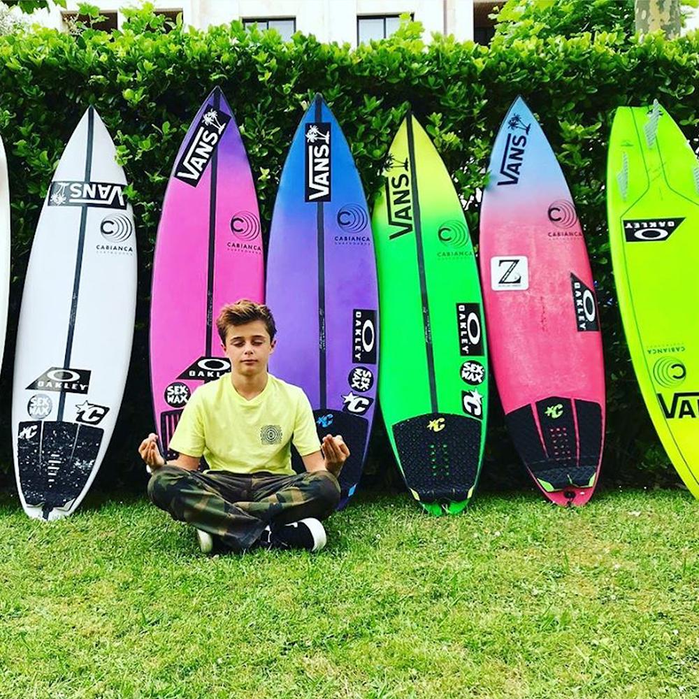 Keoni Lasa Cabianca Surfboards Zarautz