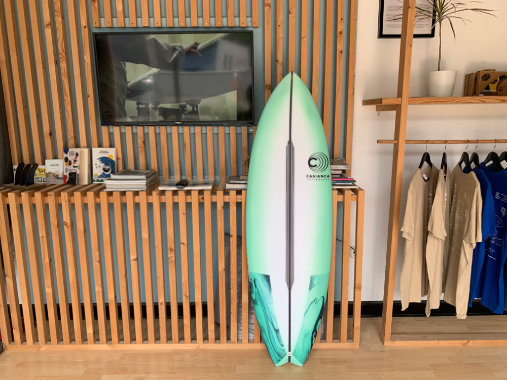 Cabianca Surfboards Color Tail Patches